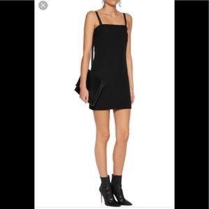 Hemut Lang black Twill mini dress size XS NWT